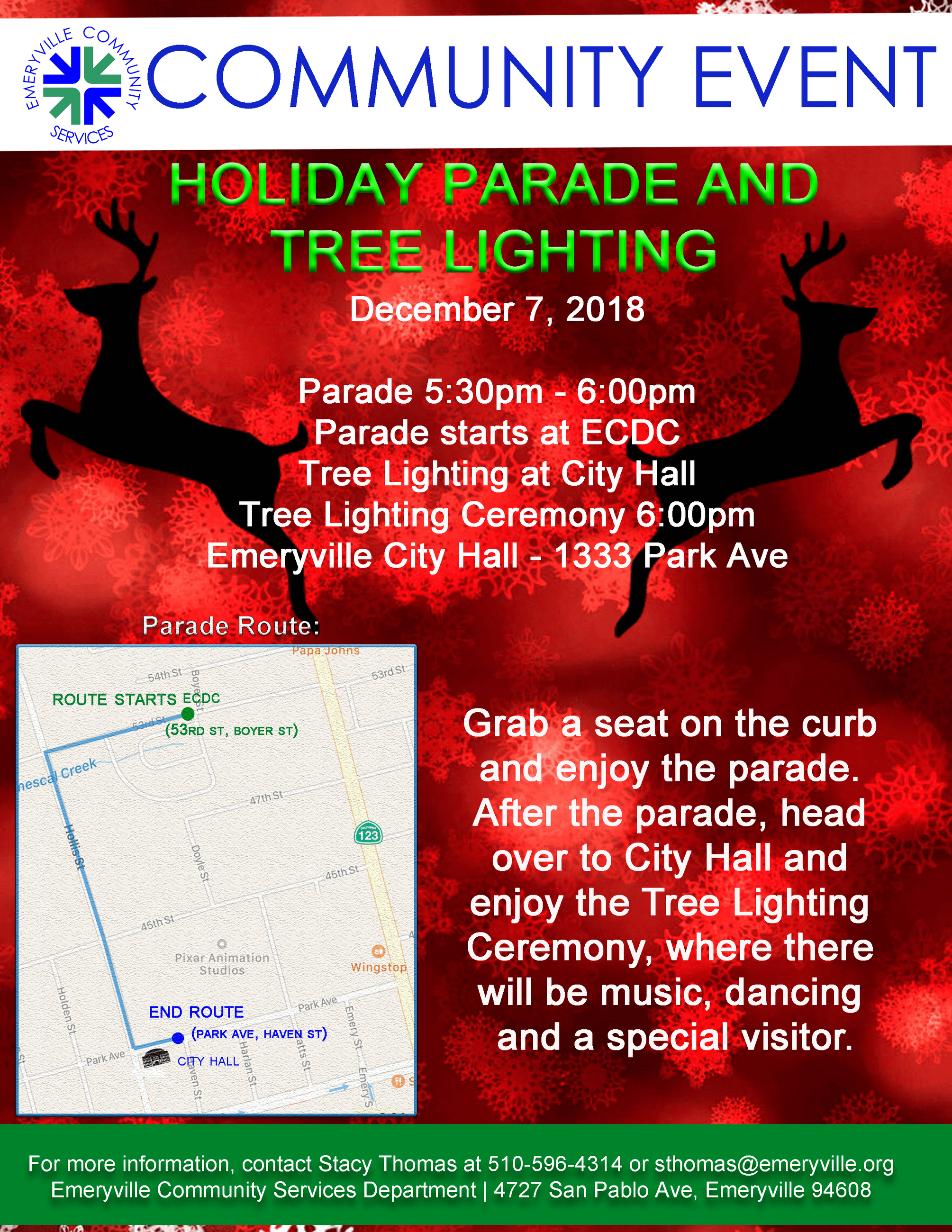 2018 Tree Lighting and Parade