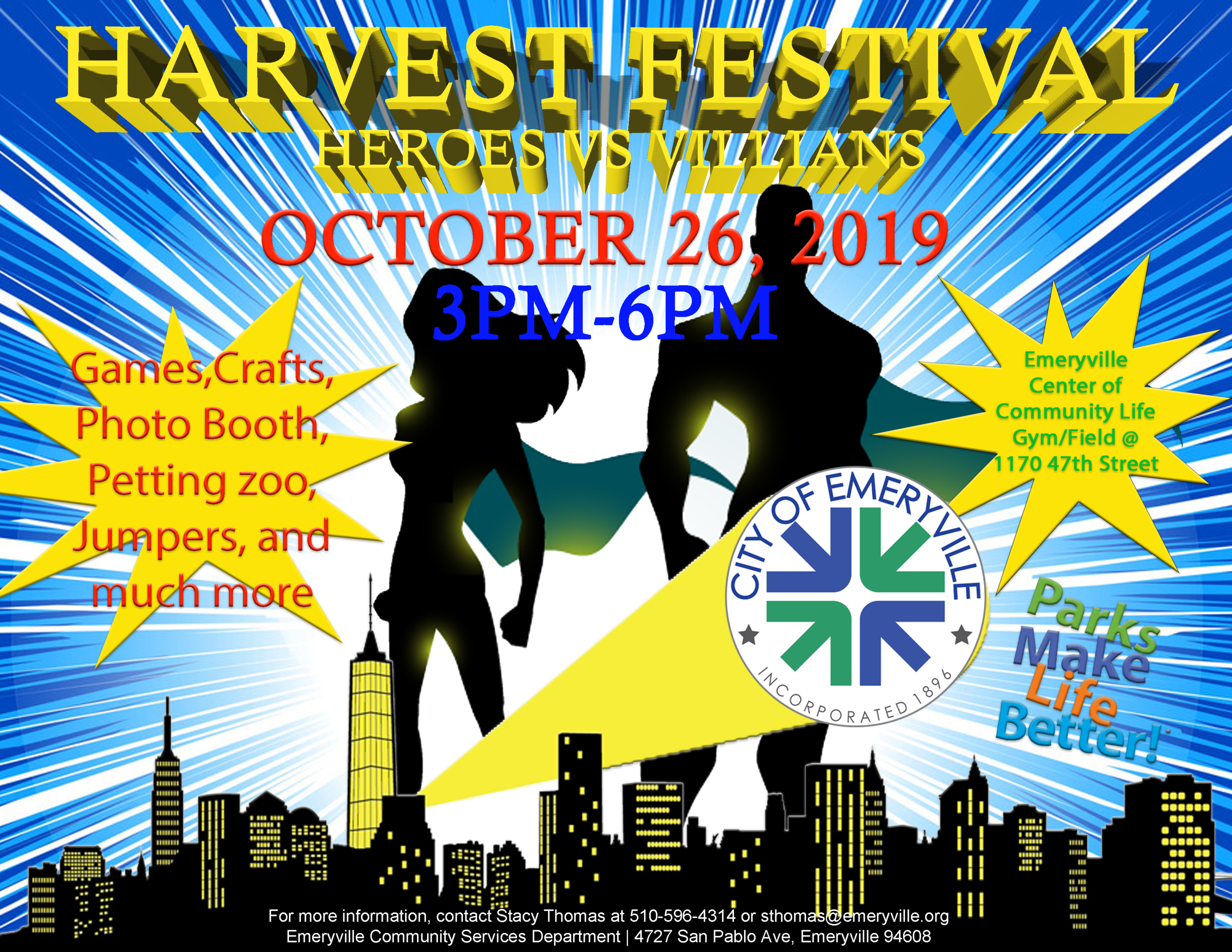 2019 Harvest Flyer