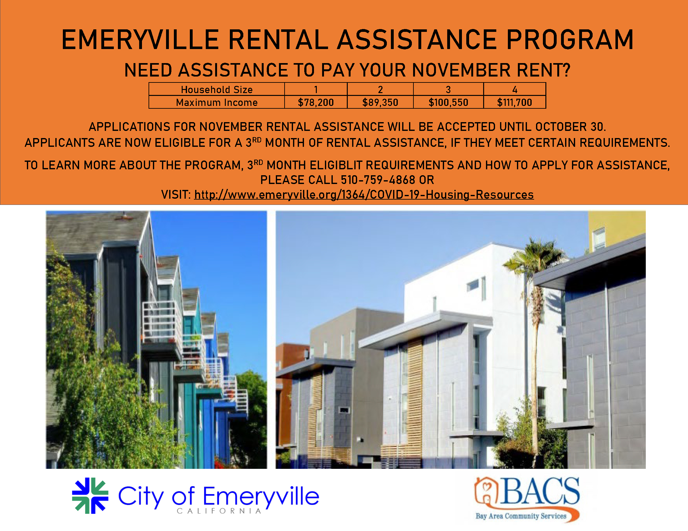 Emeryville Rental Assistance Program