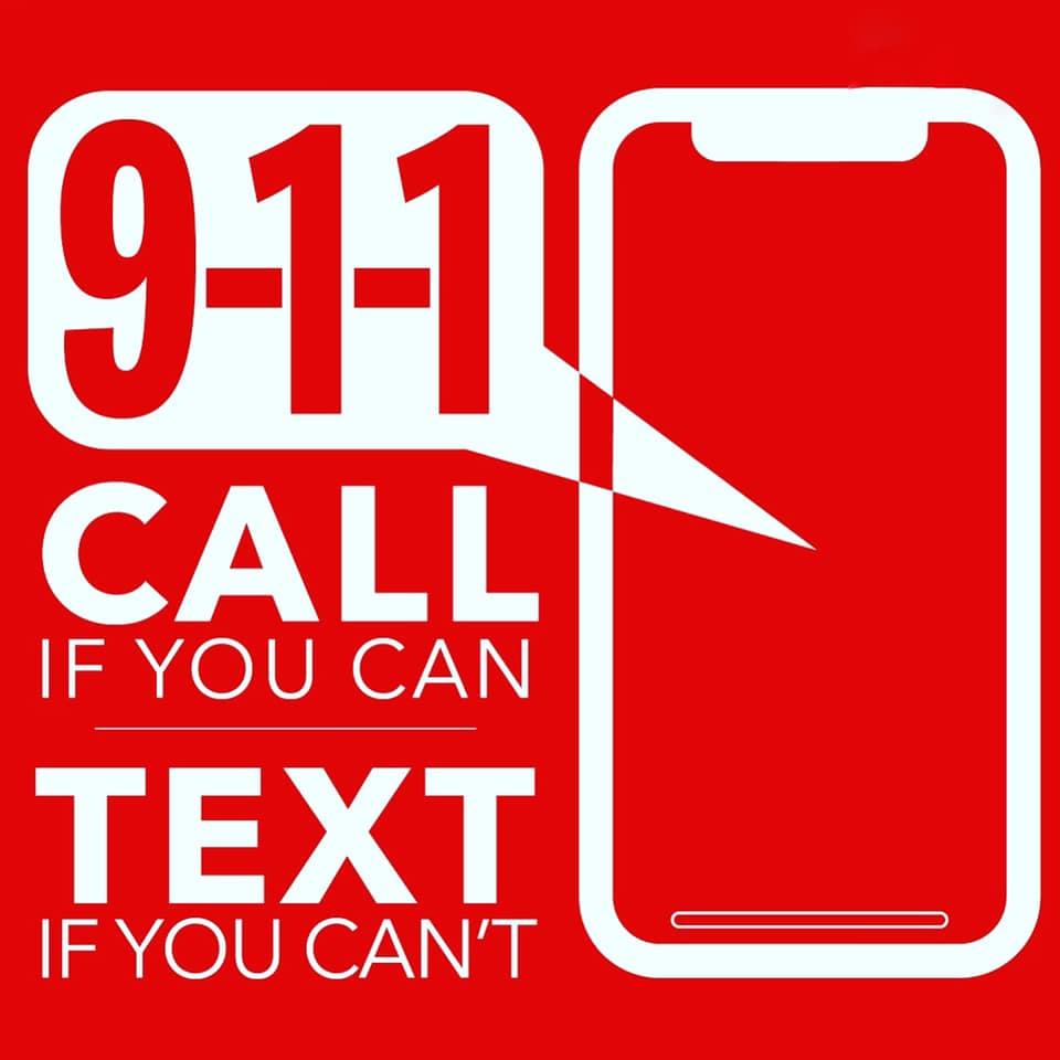 9-1-1: Call if you can, Text if you can't