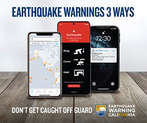 Earthquake Warning California