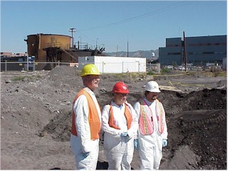 Specialist scientists participated in the 1999 project