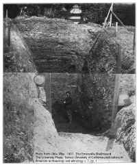 Excavation of the Shellmound in 1902