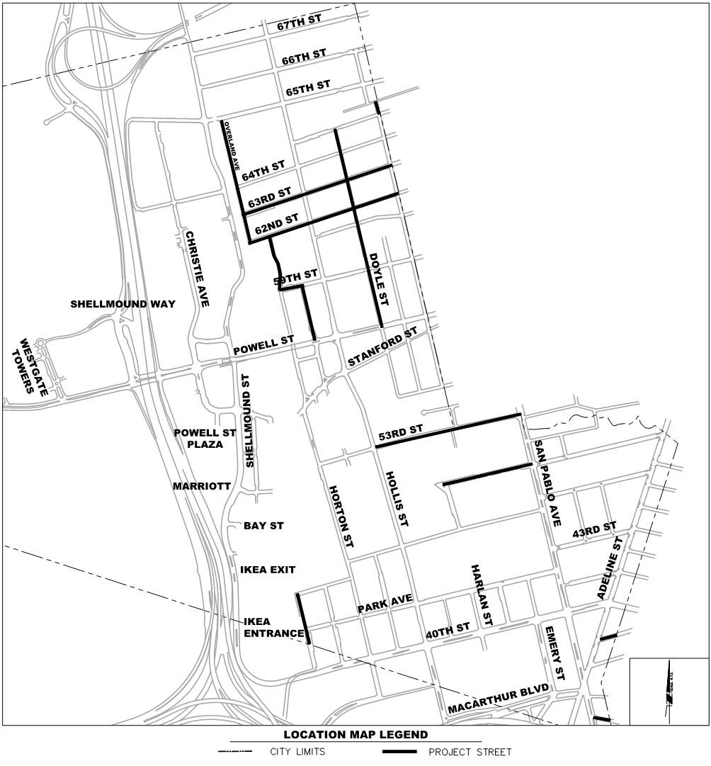 2019-2020 Paving Map