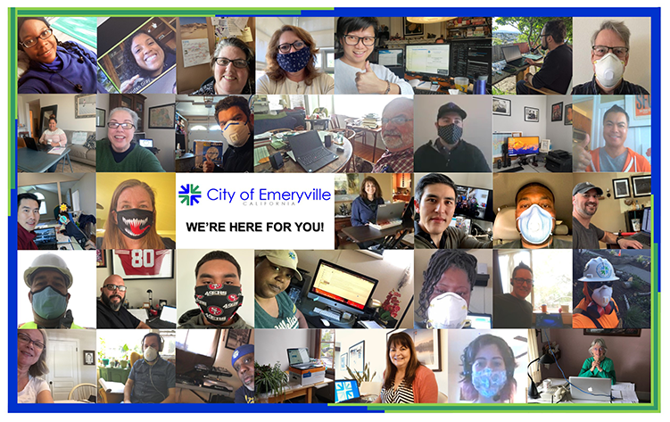 Emeryville Staff Collage Opens in new window