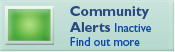 community alerts inactive find out more