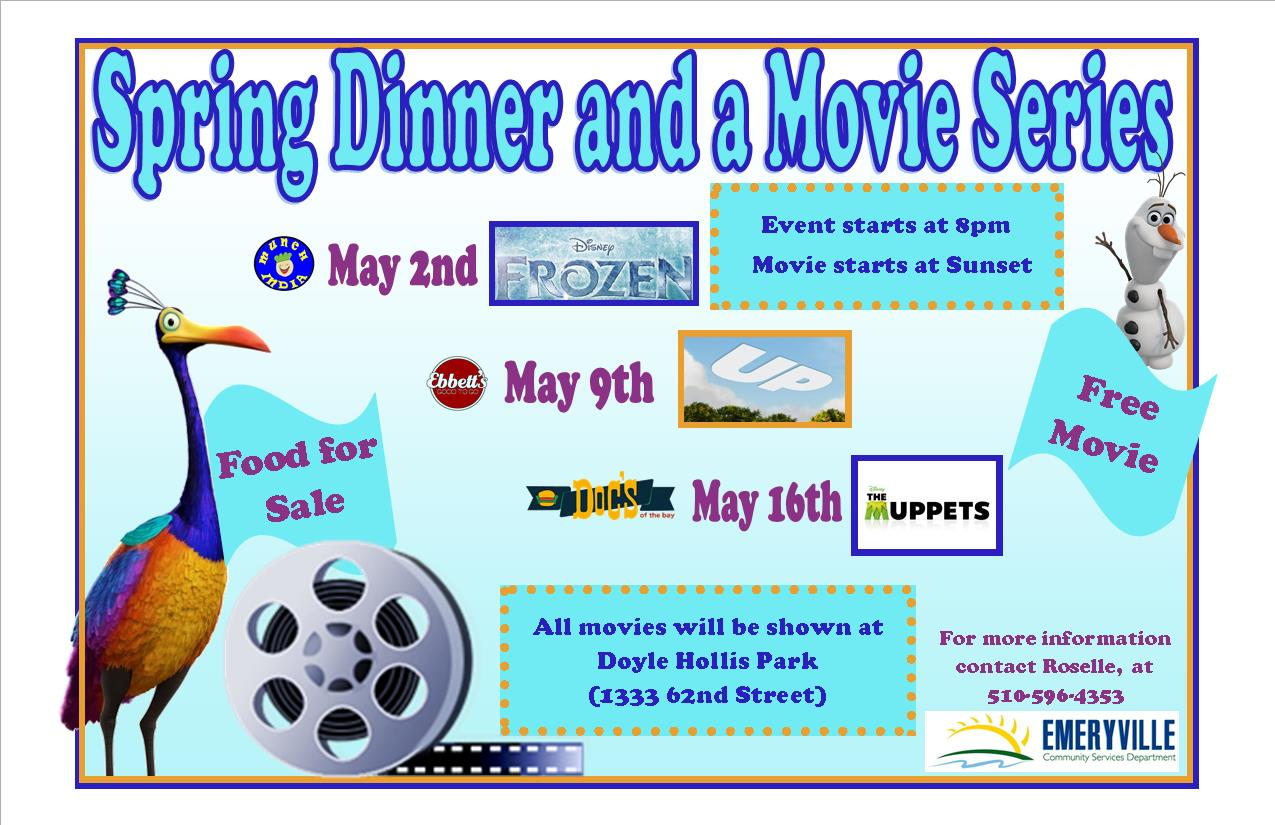 Spring Dinner and Movie Series.jpg